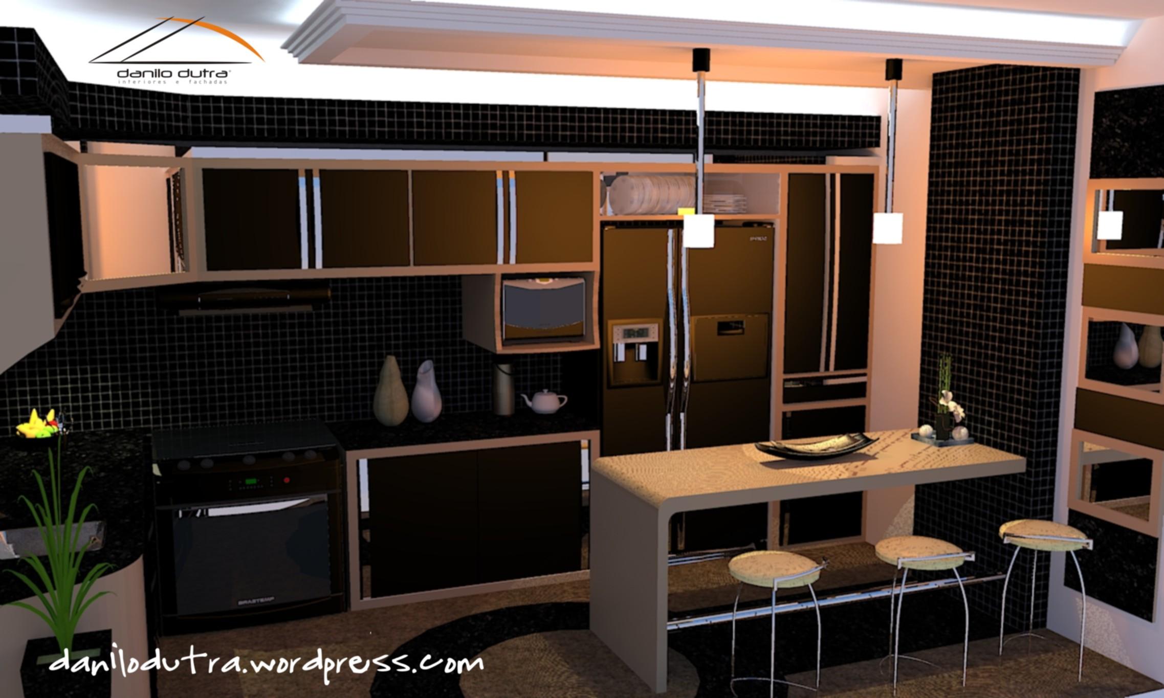 Design De M Veis P Gina 3 Danilo Dutra Decora O E Design ~ Armarios De Cozinha Modulado