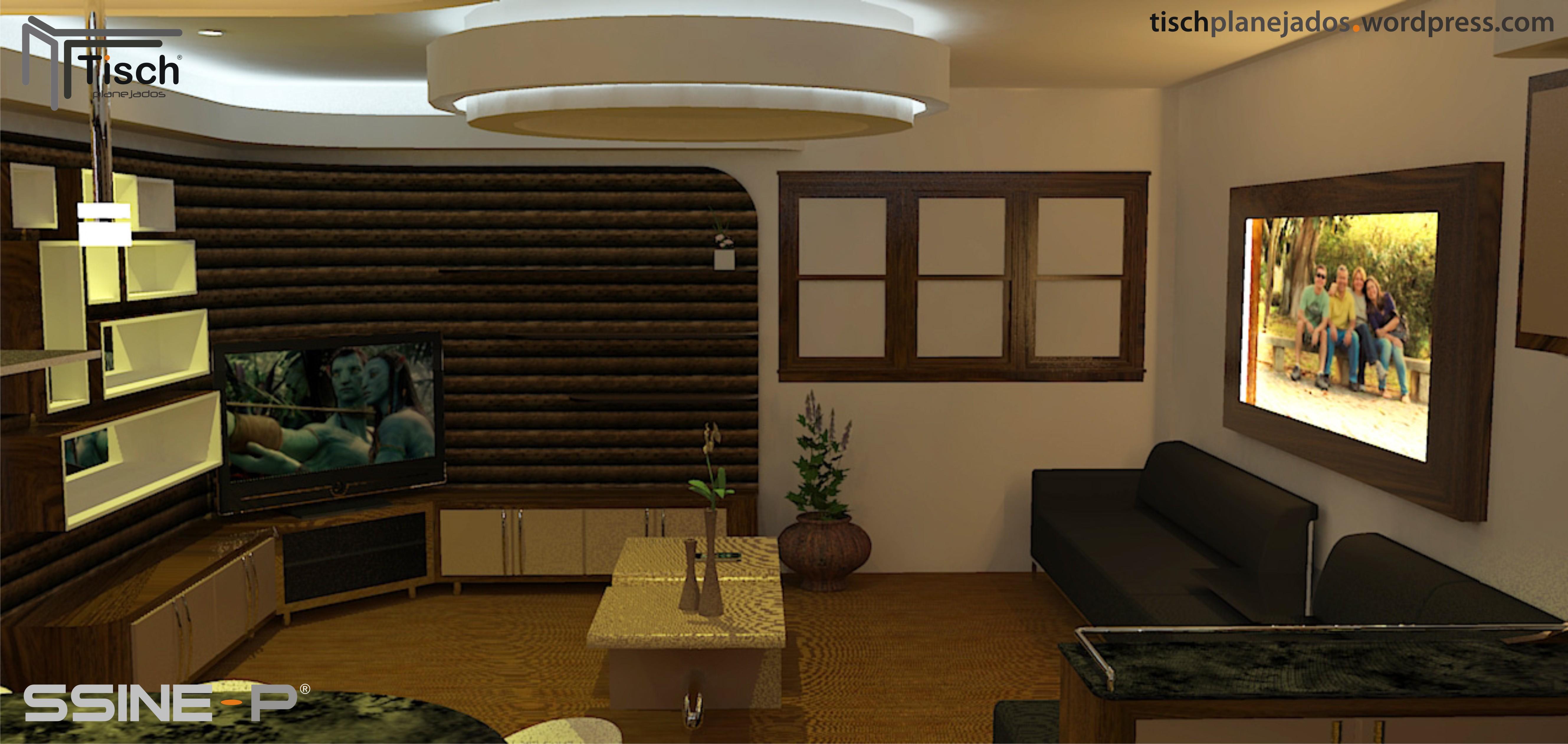 Rack Projetado Painel Tv E Rack With Rack Projetado Controlador De  -> Sala Simples Projetada