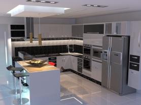 Cozinha Tisch Montpellier I
