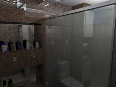 Projeto banheiro simples
