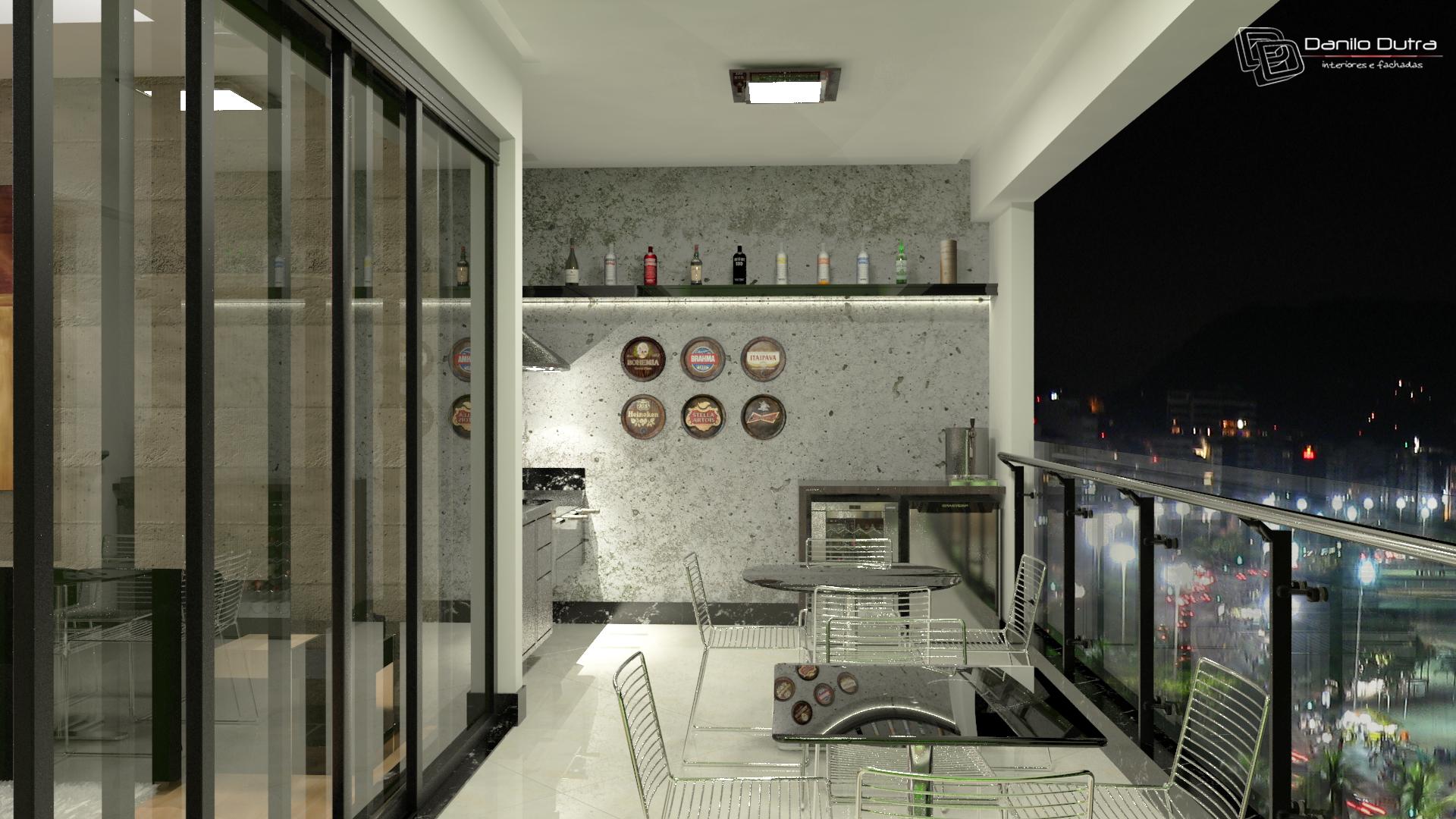 Area Gourmet Planejada Campolim Suites Cozinha Planejada Espao