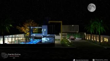 PH-716: Casa pequena destinada a momentos de lazer em família.