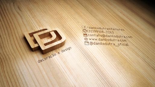 Aplicação em 3D da marca já com seu redesign