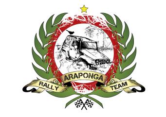 Marca desenvolvida para Equipe Araponga (RJ) que disputa provas e campeonatos de rally de regularidade em todo Brasil