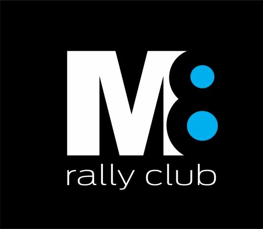 Marca desenvolvida para Equipe M8 (MG) que disputa provas e campeonatos de rally de regularidade em todo Brasil, com alguns membros também em outras categorias do esporte