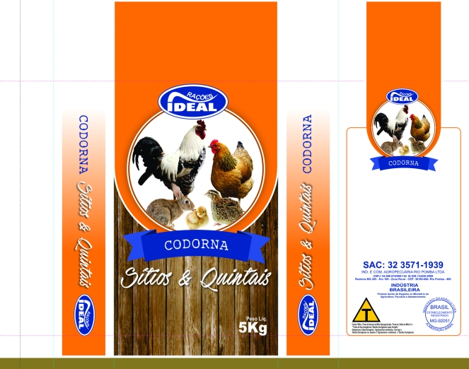 IDEAL SeQ CODORNA 5Kg