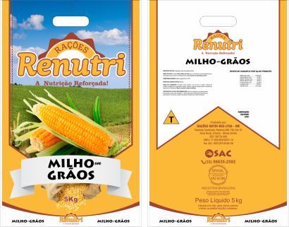RENUTRI MILHO EM GRÃOS - 5Kg