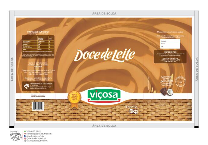 DOCE DE LEITE BAG 5 VIÇOSA