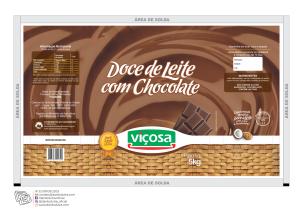 DOCE DE LEITE CHOCOLATE BAG 5 VIÇOSA