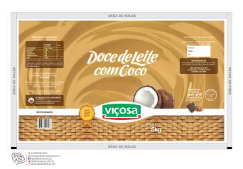 DOCE DE LEITE COCO BAG 5 VIÇOSA
